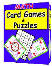 Math Card Games & Puzzles